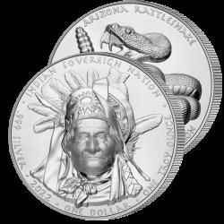 Dollar Haut-Relief Geronimo...