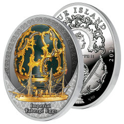 Monnaie Style Fabergé 1891