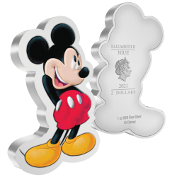 2$ Mickey Argent Pur 2021
