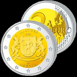 2 Euros Lituanie 2021-...