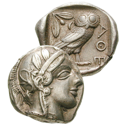 Grand Tétradrachme Athéna