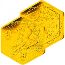 250€ Or Hexagonale