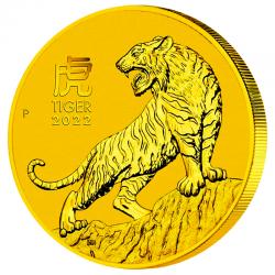 50$ Or Année Du Tigre 2022