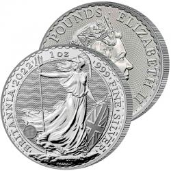 Monnaie Britannia 2022