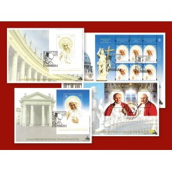 Les Enveloppes Historiques Canonisation des Papes
