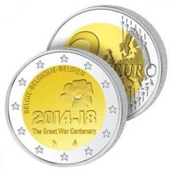 2 Euros Belgique 2014 – Première Guerre mondiale
