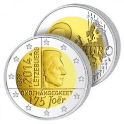 2 Euros Luxembourg 2014 – La Monnaie de l'Indépendance