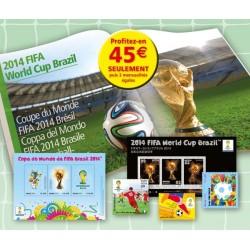 Album Coupe du Monde Brésil 2014 - 1er versement