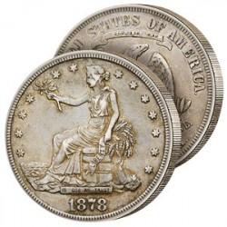 Le Dollar de Commerce Historique