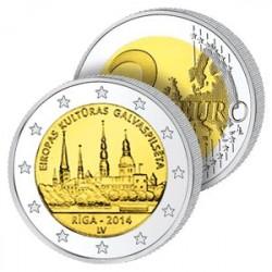 2 Euros Lettonie 2014 - Riga
