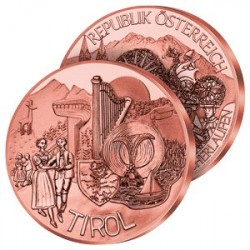 10€ 2014 Le Tyrol