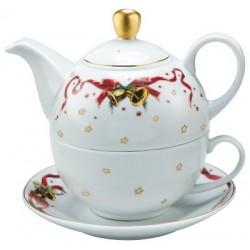 Service Complet à thé 1 Personne