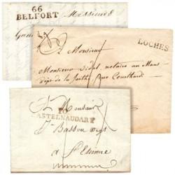 Marques Postales d'avant 1849