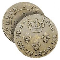 Monnaie 2 Sous Louis XVI