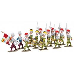 La Garde Suisse de 1812