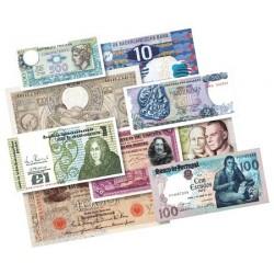 Les 4 Billets d'avant l'Euro