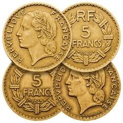 5 Francs Coloniales