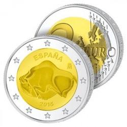 2 Euros Espagne 2015 - Grotte d'Altamira