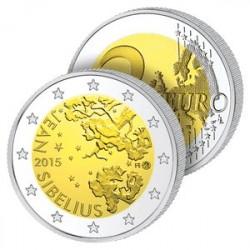 2 Euros Finlande 2015 - Jean Sibelius