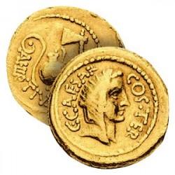 L'Aureus de Jules César