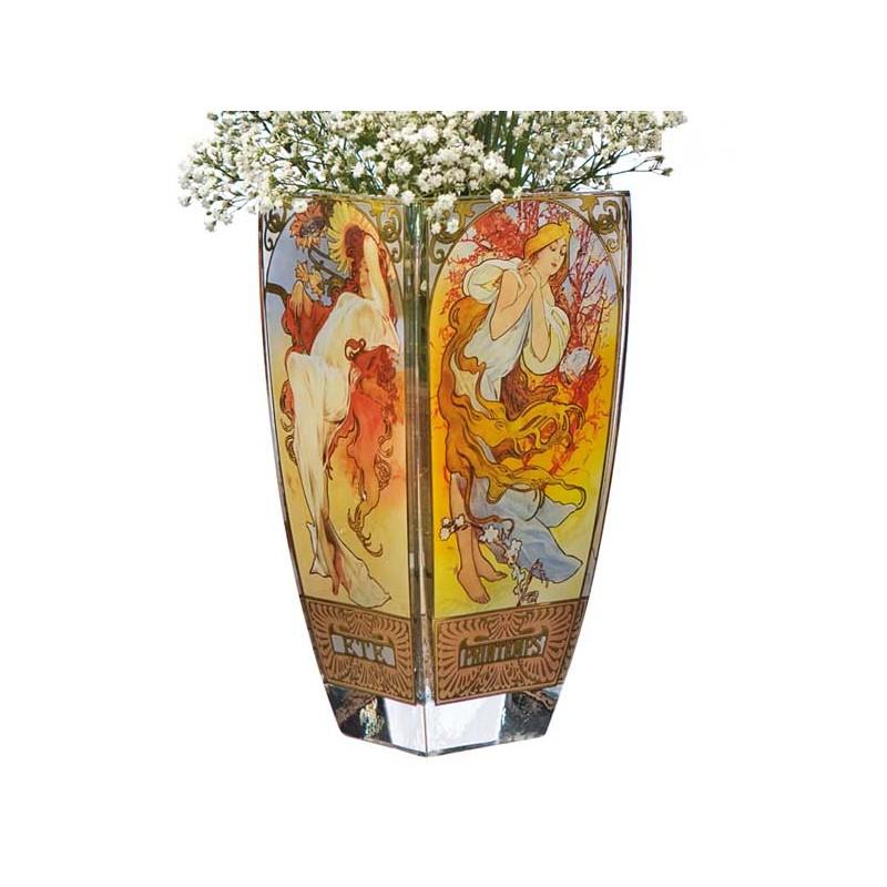 Mucha 1897 Le Vase Des 4 Saisons