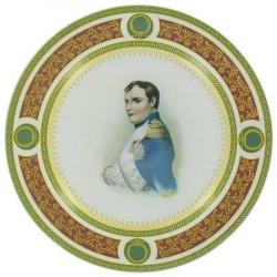 Assiette Napoléon Empereur