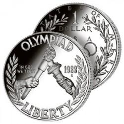 Dollar Jeux Olympiques 1988