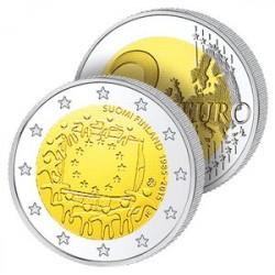 2 Euros Finlande 2015 - Drapeau Européen