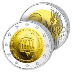 2 Euros Saint-Marin - Réunification Allemande
