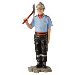 Le Pompier en tenue d'honneur