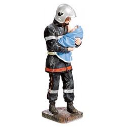 Le Pompier sauvant le bébé