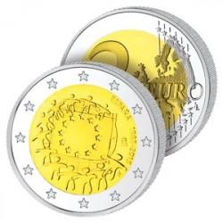 2 Euros Espagne 2015 – Drapeau Européen