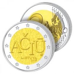 2 Euros Lituanie 2015 – Langue Lituanienne