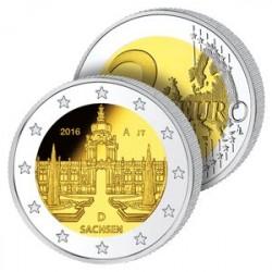 2 Euros Allemagne 2016 – Palais de Dresde