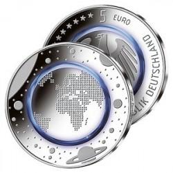 5 Euros Planète Bleue 2016
