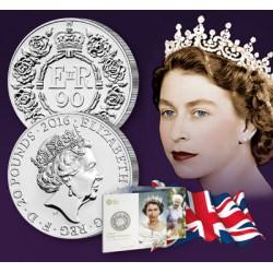 20 Livres Anniversaire de la Reine