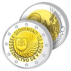 2 Euros Slovaquie 2016 - Présidence du Conseil