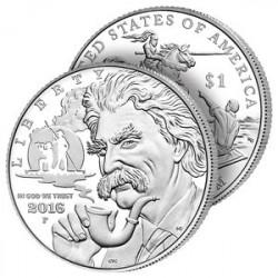 Dollar Argent Mark Twain 2016
