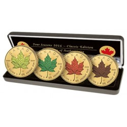 Coffret Canada 2016 – 4 Saisons