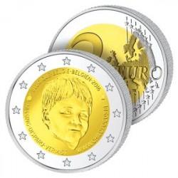 2 Euros Belgique 2016 - ONG Enfants Disparus