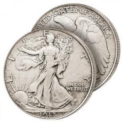 Le Demi-Dollar Semeuse Américaine