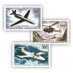 Poste Aérienne type 1957-1959