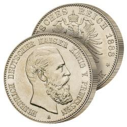 2 Marks Argent 1888