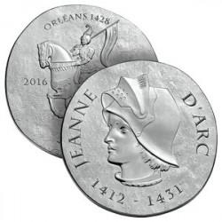 10€ Argent Jeanne d'Arc