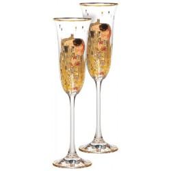Le Duo de Flûtes – Klimt, Le Baiser