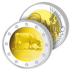 2 Euros Lettonie 2016 – Industrie Laitière