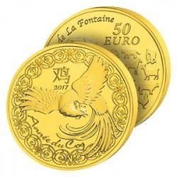 50€ Or France Année du Coq