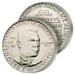 Demi-Dollar Argent Booker 1946
