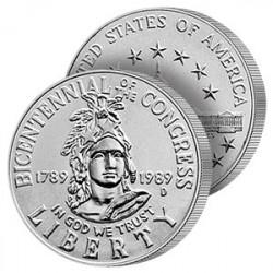 Demi-Dollar 200 ans du Congrès