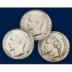 Les 3 Monnaies Napoléon III
